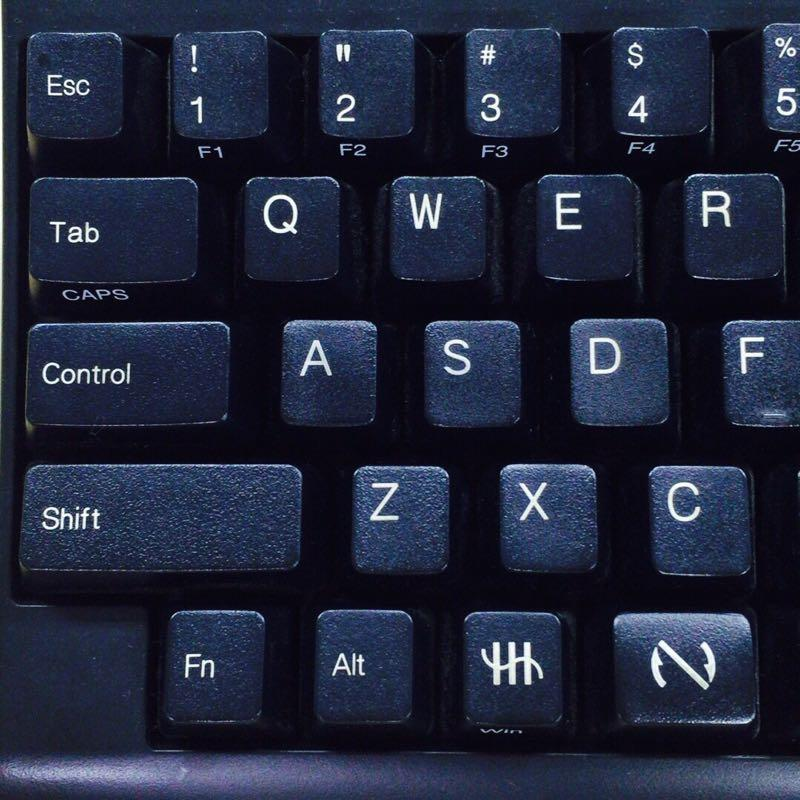 HHKBを使ってみた。happy hacking keyboard is fine sounds.