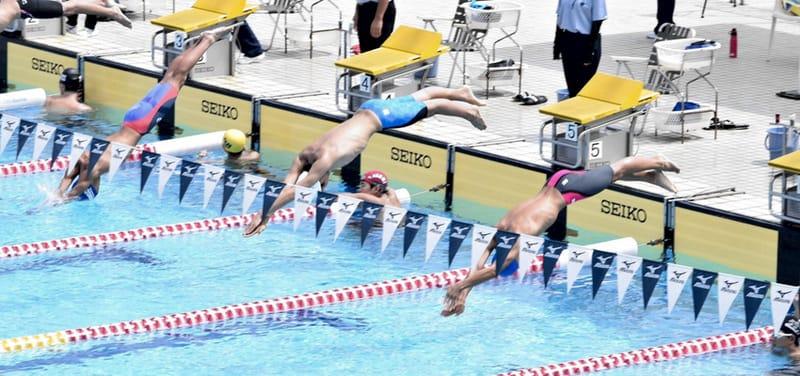 競泳 第40回全国JOC夏季東京都予選のコース順が発表されました