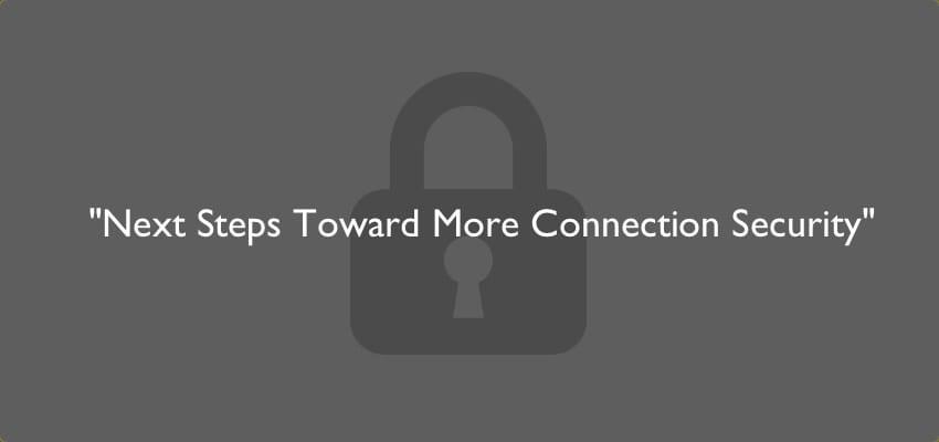 chromeのセキュリティ強化で、「Not secure」が表示されるパターンが追加されます